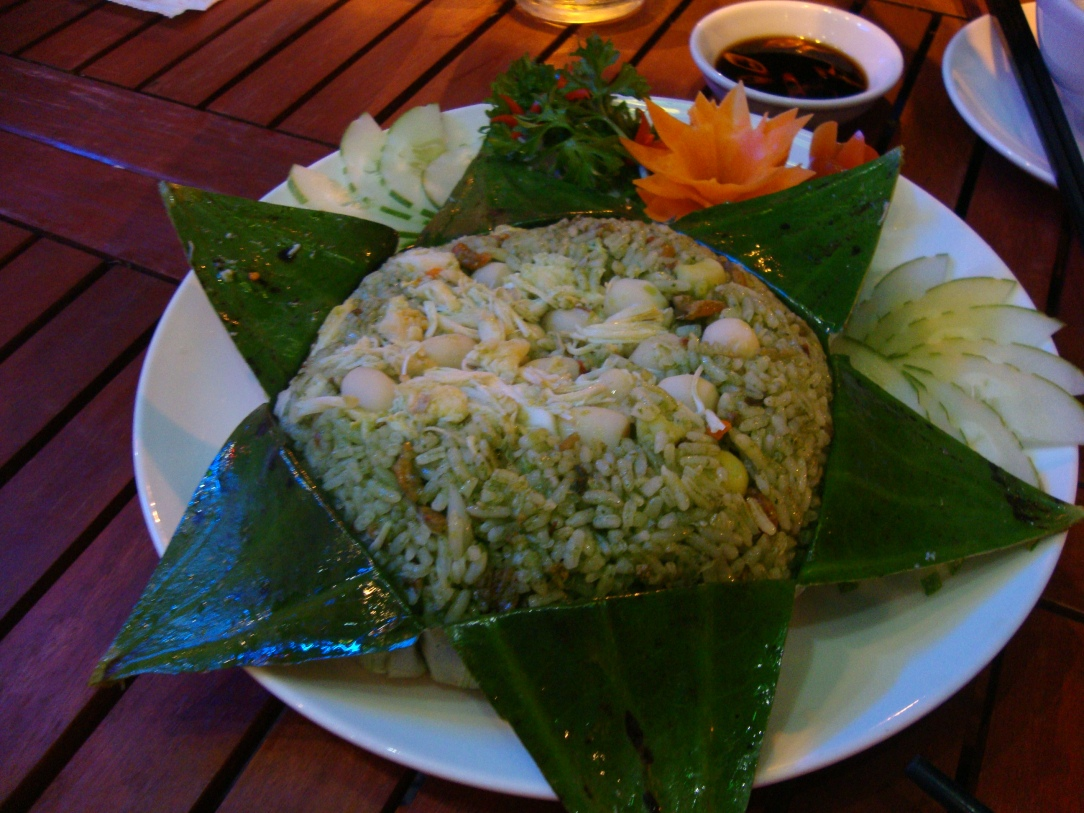 My unforgettable lotus rice dinner in Saigon