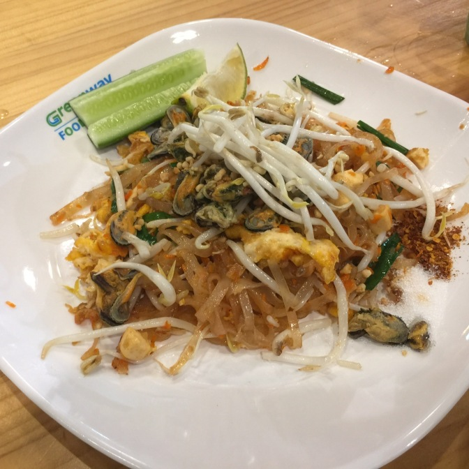 Pad Thai in greenway night market was awesome