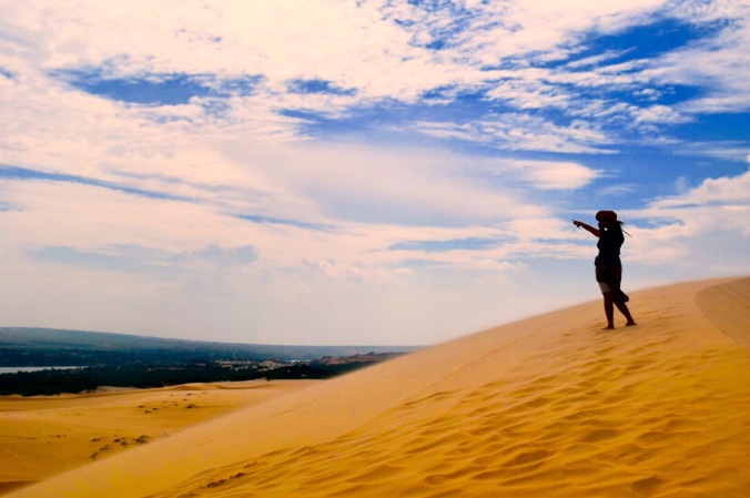 White Sand Dunes, Mui Ne, Vietnam, day trip mui ne, ATV at sand dunes