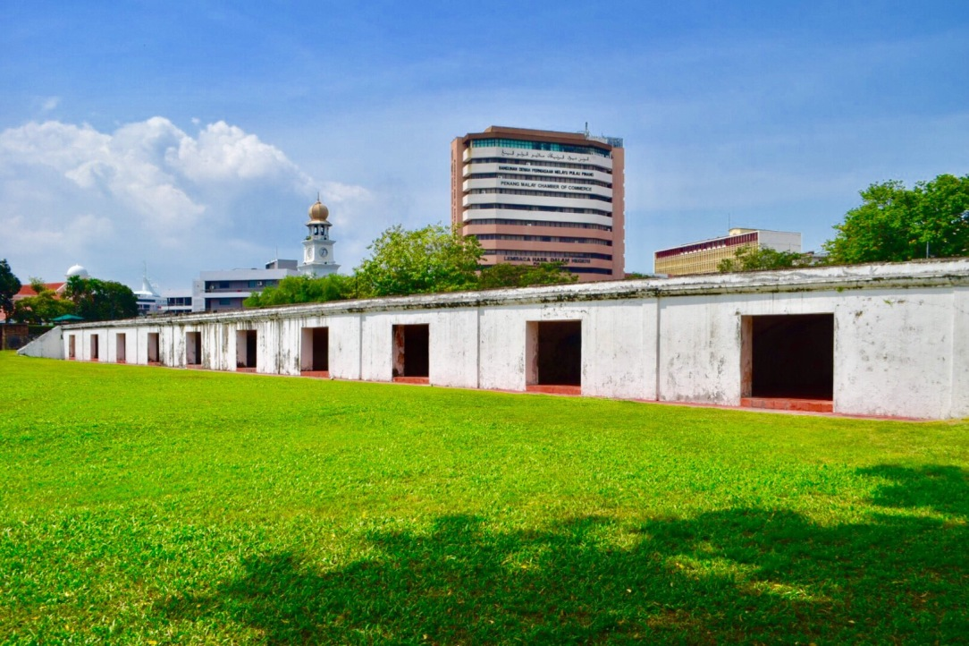 Fort Cornwallis in Penang, Malaysia