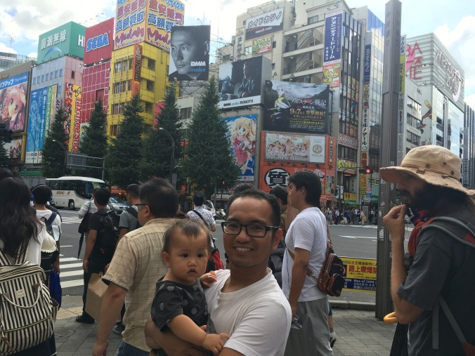 Tokyo with baby