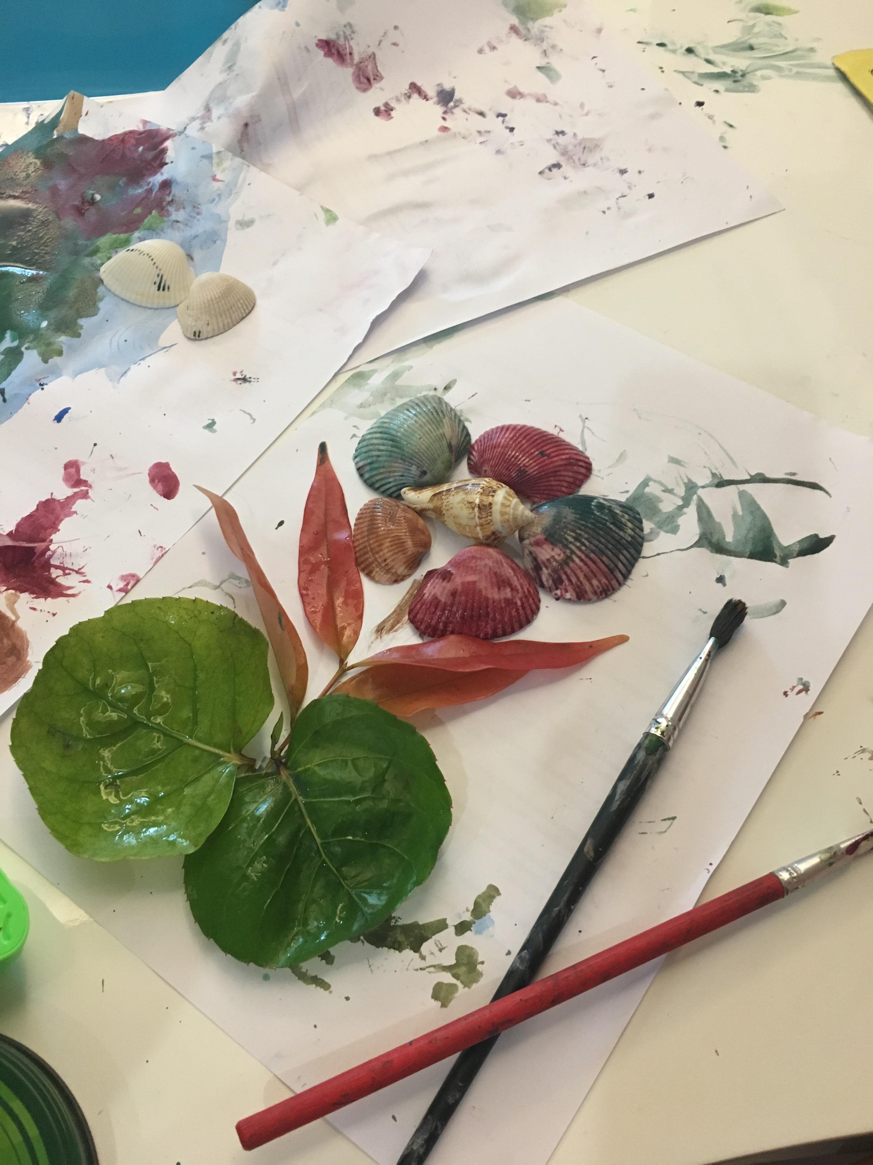 toddler craft, nature toddler, nature walk for toddler