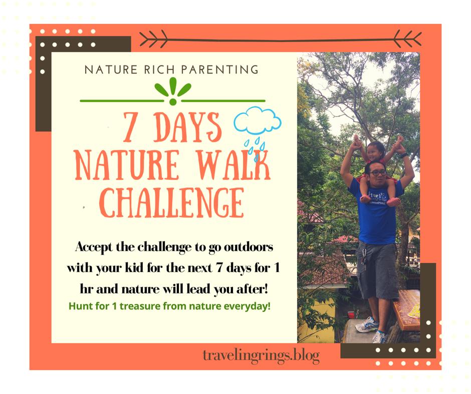 7 Days Nature Walk Challenge
