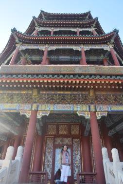 Summer palace Beijing in winter
