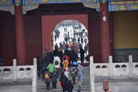 Temple of heaven Beijing in winter, Things to do in beijing