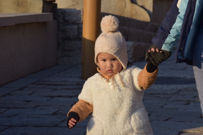 Beijing winter with Toddler