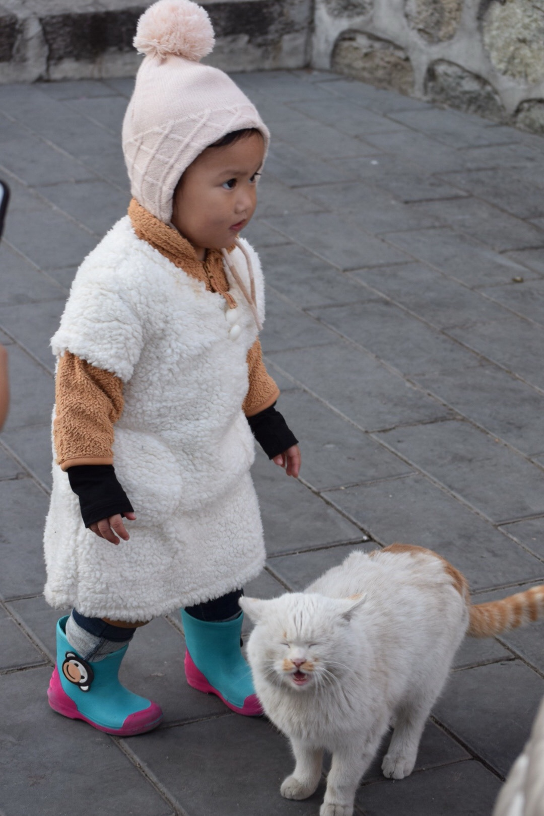winter beijing with toddler