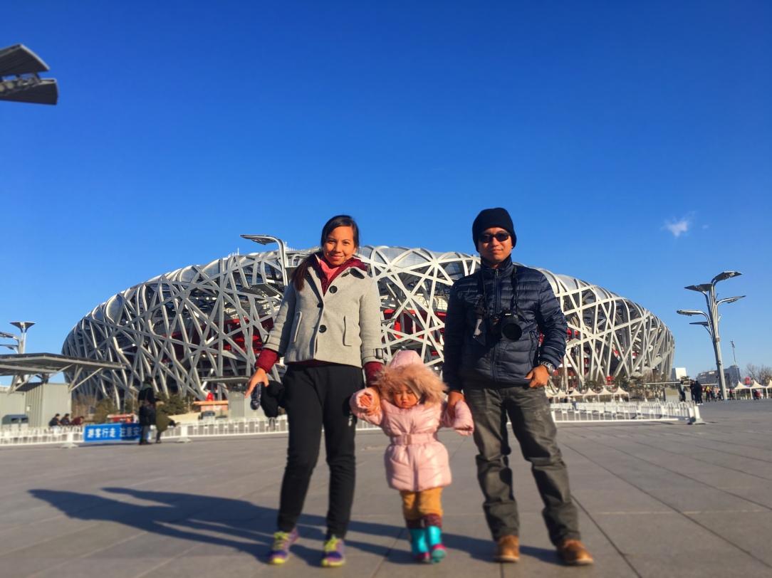 travel blog Beijing, mommy travel blogger Beijing , winter Beijing , Birds nest Beijing