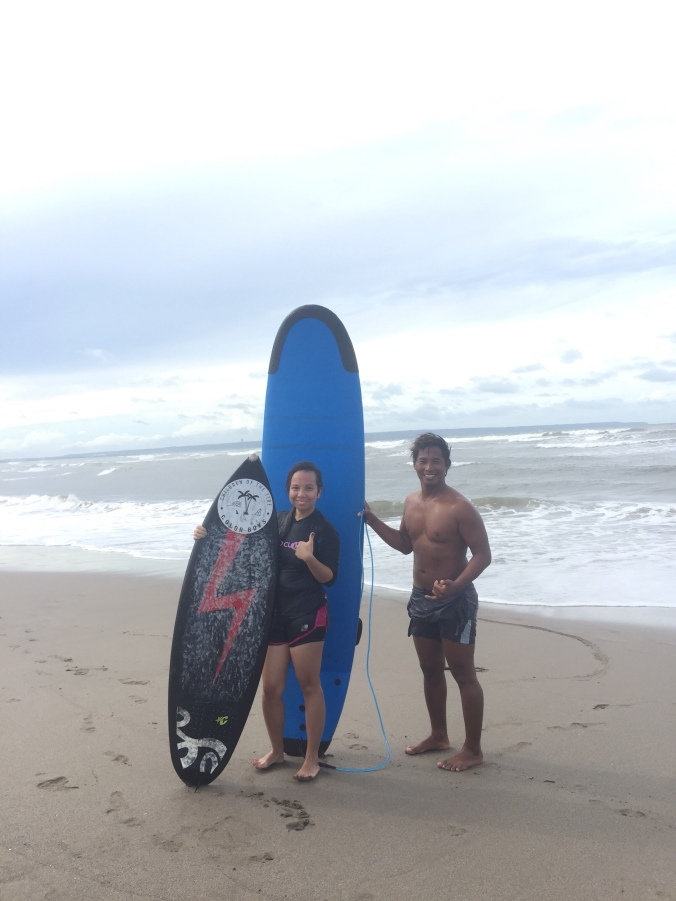 canggu surf, surf in bali