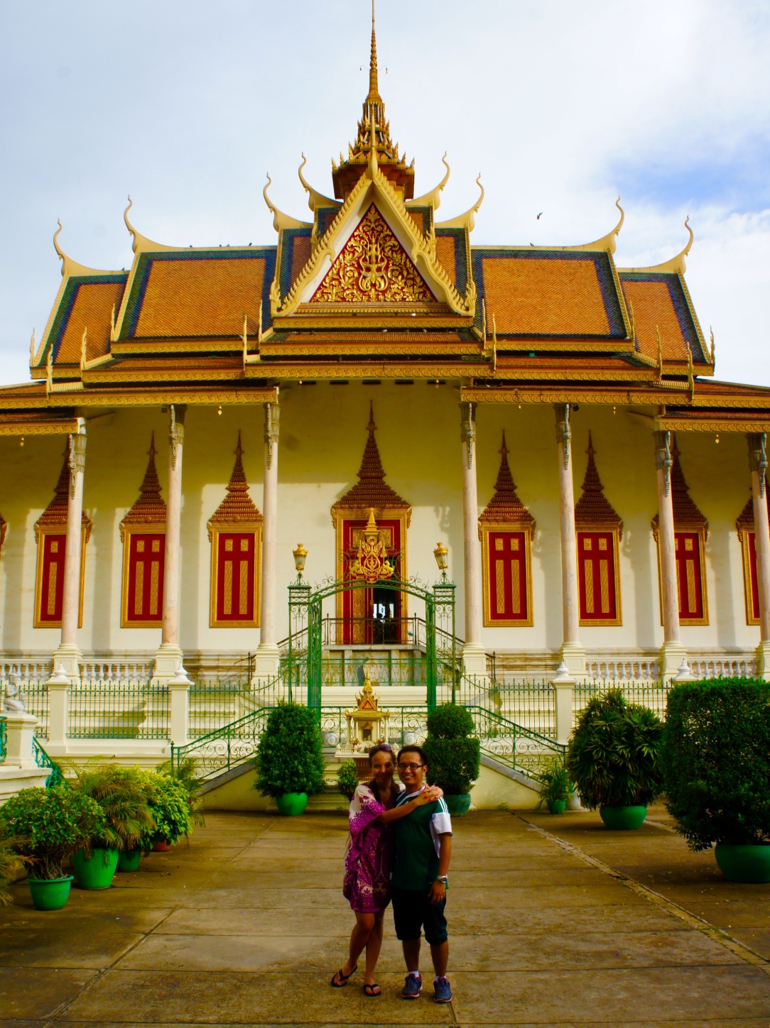 Things to do in cambodia, royal palace