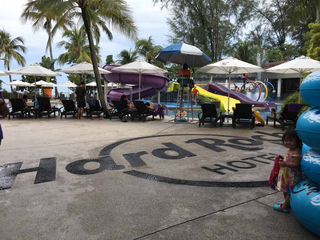 Travel blogger penang, family travel blog malaysia, toddler traveller, hard Rock penang