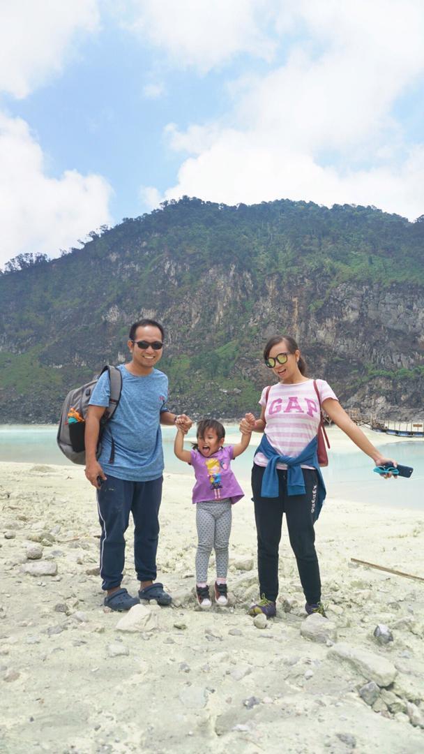 Family trip Bandung